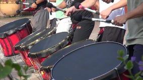 Trommeln, Stoß, Musikinstrumente stock video footage