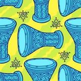 trommels Arabische trommels percussie stock illustratie