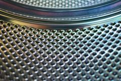 Trommelwasmachine van de binnenkant royalty-vrije stock afbeelding
