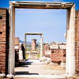 Trompe l ` oeil in Drie Afmetingen in Ephesus stock foto