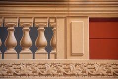 Trompe l ` oeil w Camogli Zdjęcia Stock
