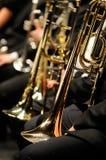 Trompet Stock Foto