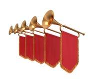Trompet. vector illustratie