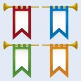 Trompet (vector) stock illustratie