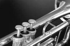 Trompeta Fotografía de archivo libre de regalías