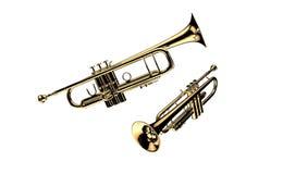 Trompeta Foto de archivo libre de regalías