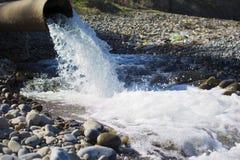 Trompeta - aguas residuales Imagen de archivo libre de regalías