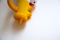 Trompeta amarilla Foto de archivo libre de regalías