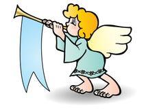 Trompeta del soplo del ángel libre illustration