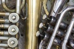 Trompetas Fotografía de archivo libre de regalías
