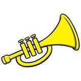 trompete vektor abbildung