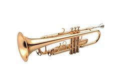 Trompete auf weißer Illustration 3D stock abbildung