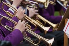 Trompete-Konzert Lizenzfreie Stockbilder