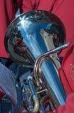 Trompete mit Reflexion lizenzfreies stockfoto