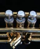 Trompete-Teile Lizenzfreie Stockfotos