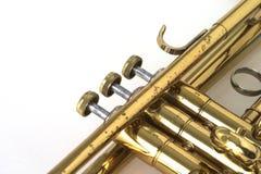 Trompete-Ventile Stockbild