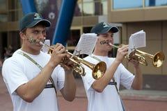 Trompeter stockbild