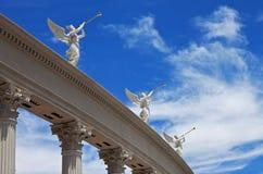 Trompetistas cons alas, Las Vegas Imagen de archivo libre de regalías