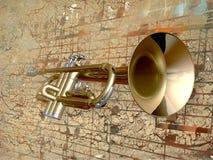 trompette Photographie stock libre de droits
