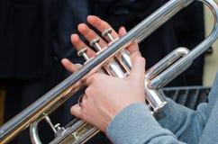 trompette photo stock