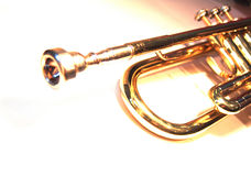 Trompette de Bb Photo stock