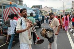 Trompette et tambour images libres de droits
