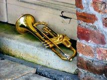 trompetten royalty-vrije stock afbeelding