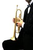 Trompetter Stock Foto's