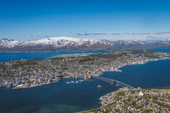 Tromsø, το Παρίσι του Βορρά Στοκ φωτογραφίες με δικαίωμα ελεύθερης χρήσης