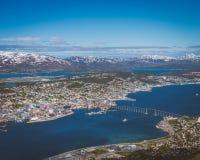 Tromsø, το Παρίσι του Βορρά Στοκ εικόνα με δικαίωμα ελεύθερης χρήσης