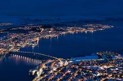 Tromsö,特罗姆斯,挪威 免版税库存图片