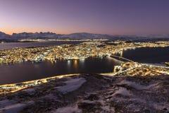 Tromsö Imágenes de archivo libres de regalías