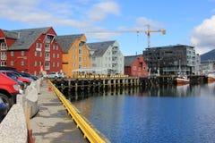 Tromsø brouwt. Stock Foto