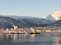 Tromsø, Noorwegen Stock Afbeeldingen