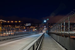 Tromse bridge, Norway Stock Photography