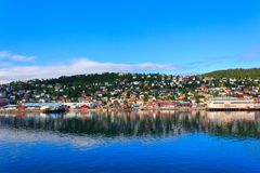 Tromse, Noorwegen Stock Fotografie