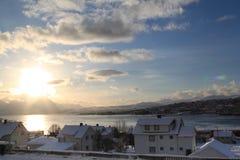 Tromse, Norwegen Stockfotografie