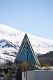 tromso καθεδρικών ναών Στοκ εικόνες με δικαίωμα ελεύθερης χρήσης