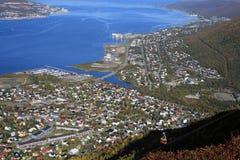 tromso λόφων Στοκ φωτογραφίες με δικαίωμα ελεύθερης χρήσης