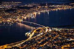 Tromso Νορβηγία Στοκ Εικόνες