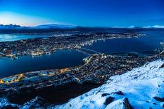 Tromso Νορβηγία Στοκ φωτογραφία με δικαίωμα ελεύθερης χρήσης