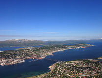 Tromso Foto de Stock Royalty Free