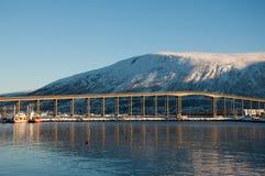 Tromso bridge Stock Photo