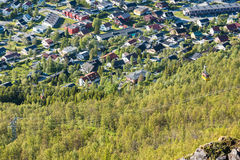 The Tromso Cable Car in Norway. Stock Photos