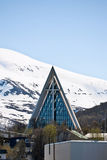 Tromso Cathedral Royalty Free Stock Images