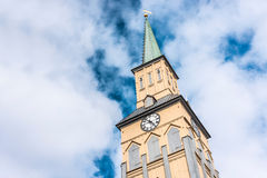 The Tromso Cathedral in Norway. Stock Image