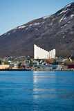 Tromso church Stock Images