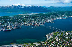 Tromso city Stock Image