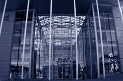 Tromso city hall Stock Photos
