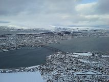 Tromso cityscape Stock Images